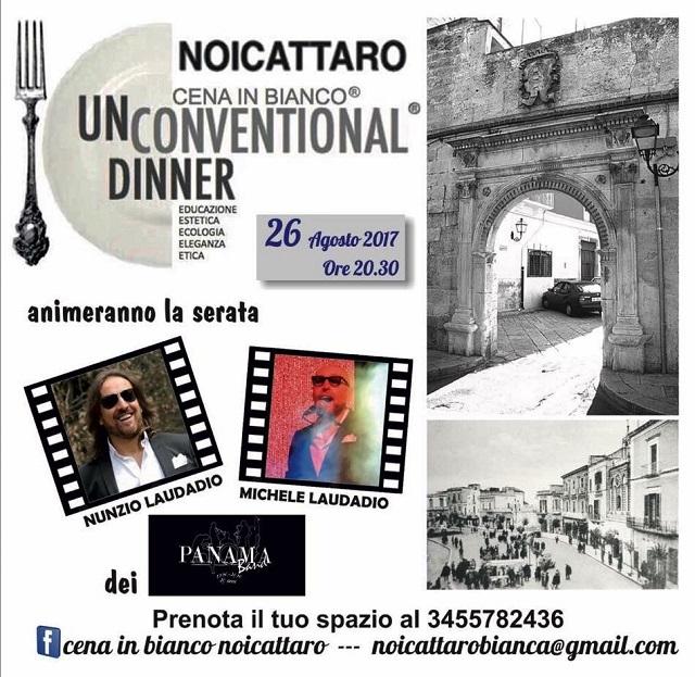 Noicattaro. Cena in Bianco intero