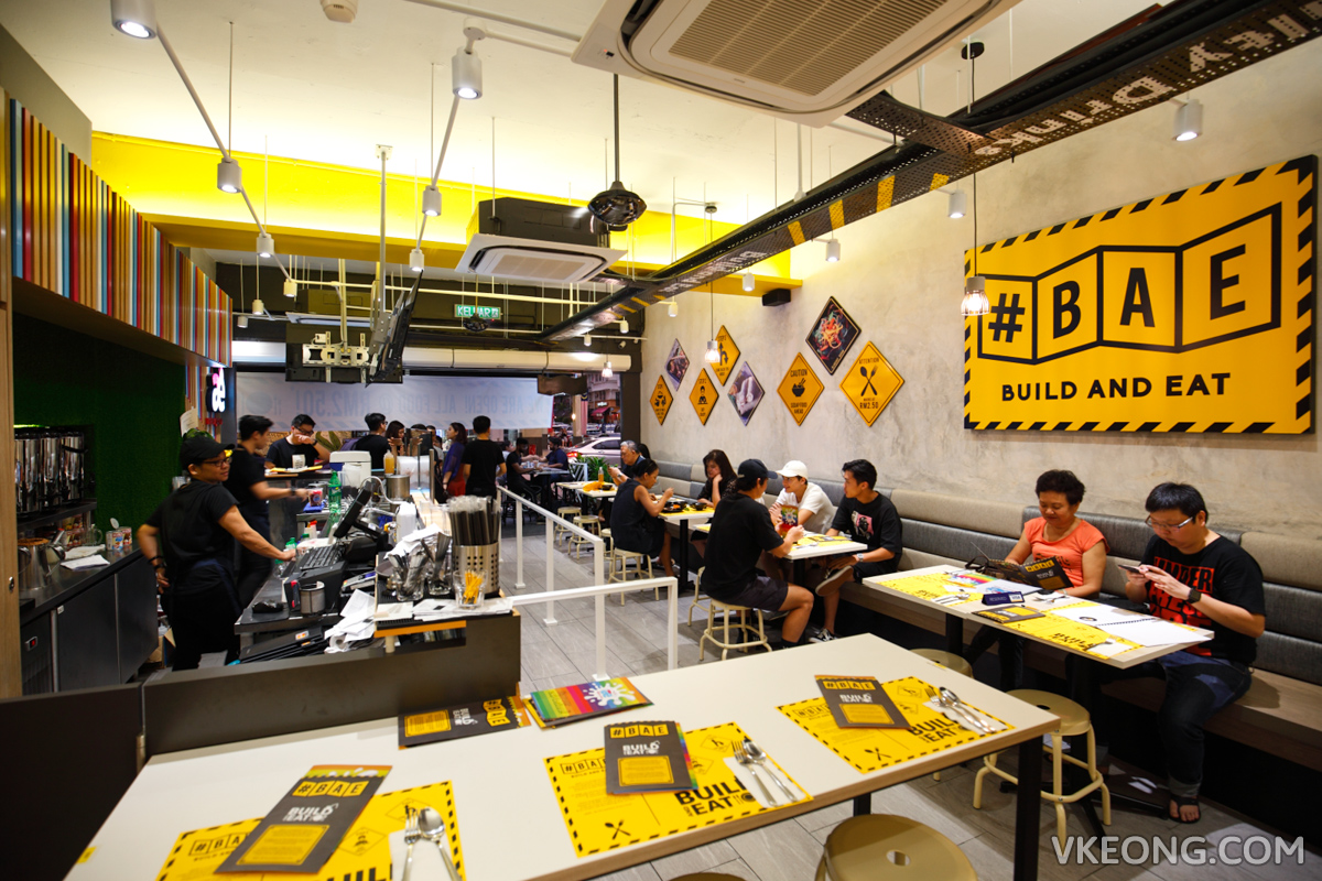#BAE Bangsar Build and Eat Restaurant