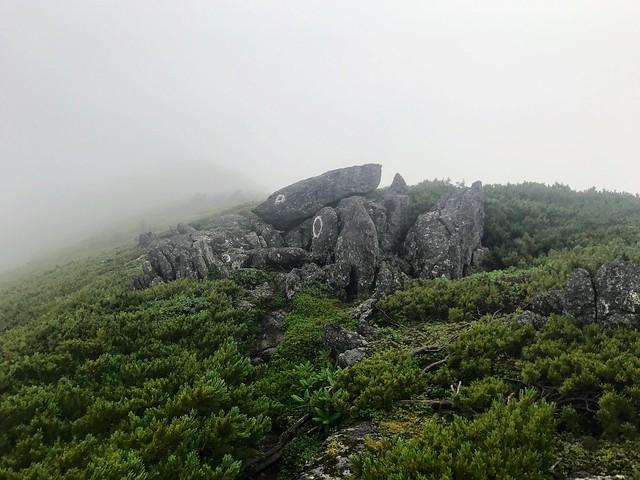 乗鞍岳 平湯・乗鞍新登山道 岩場
