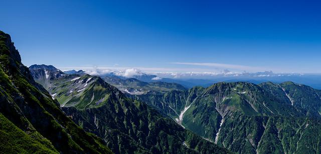 立山~大日岳