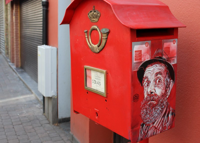 Post box, Brussels