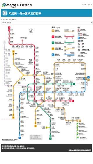 台北捷運 台北車站資訊