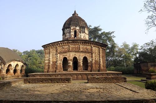 inde india bishnupur radhamandhab temple brique bengale cinéma hinduism