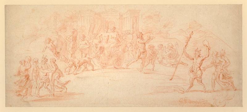 Claude Gillot - Mythological Scene
