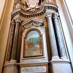 Aedicule (1646-1650) by Francesco Borromini with fresco