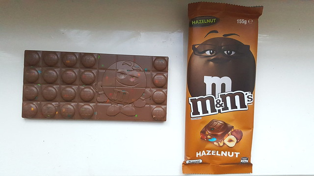 M&M's Chocolate Hazelnut Block