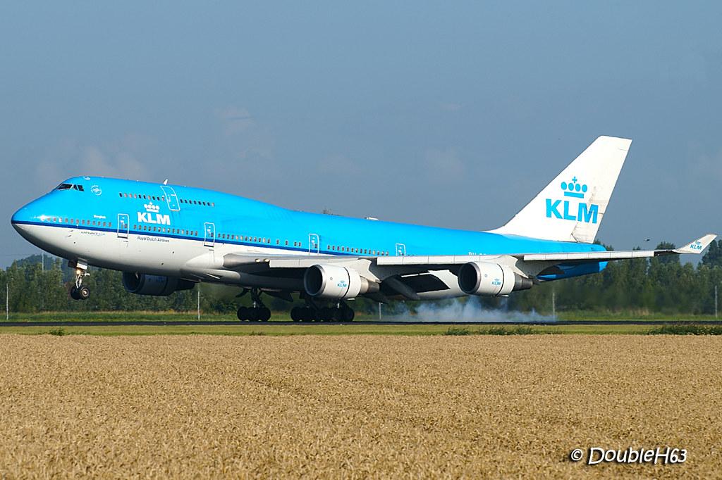 B744 KLM AMS