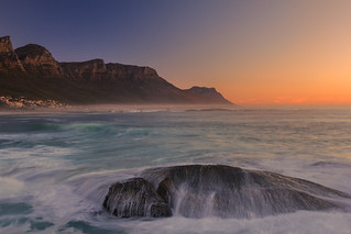 After sunset at Cape Town