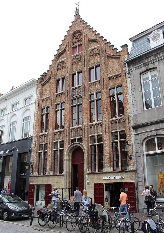 McDonalds in Brugge, Belgium
