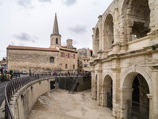 Amphitheater, Turm Collège Saint Charles