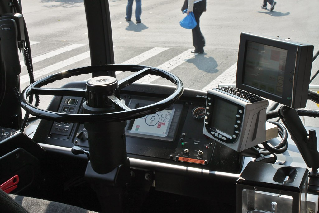 CT 17100 driver's seat