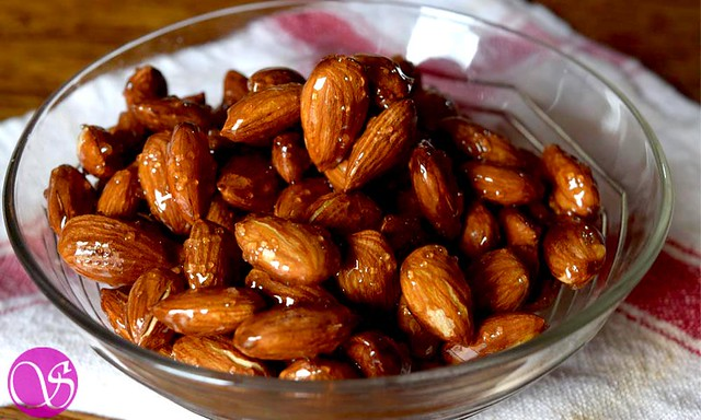 Honey and Roasted Almonds