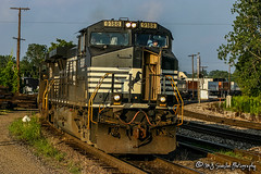NS 9188 | GE C40-9W | UP Memphis Subdivisions