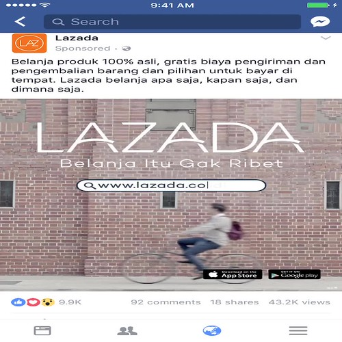 Lazada Indonesia Facebook ad - Recut video 1