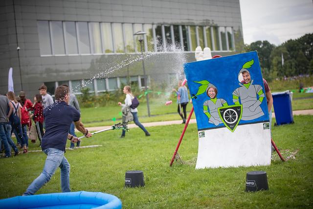 AID day 1: Campusgames