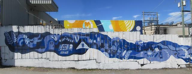 JENNY RITTER - Community Mural left