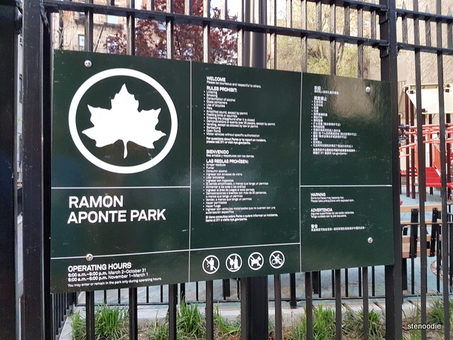Ramon Aponte Park