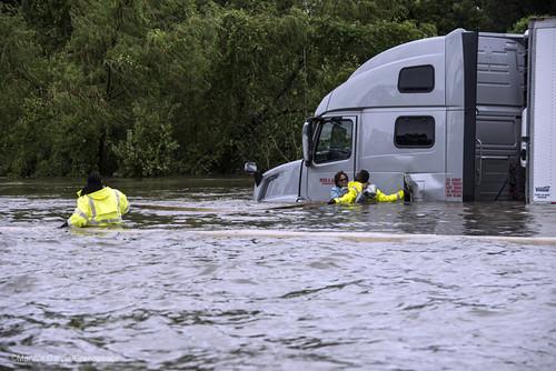 Harvey Flooding Rescue