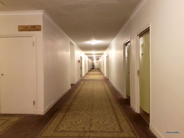Hotel Pennsylvania hallways