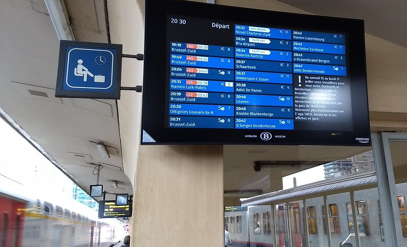 Brussels Nord: delays on the trains