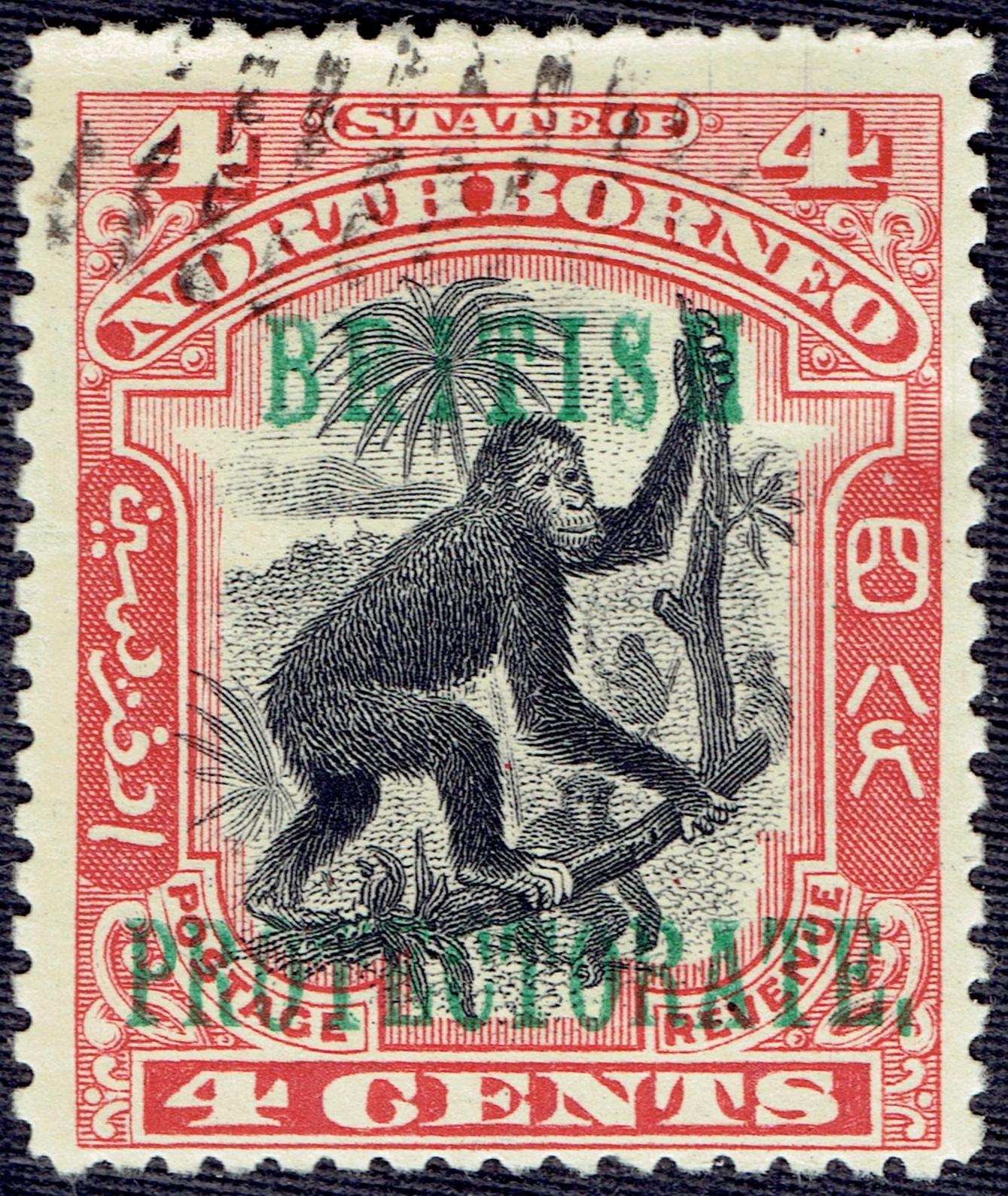 North Borneo #108 (1901)