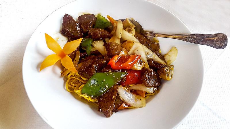 Tai Chi - Beef Black Pepper Chow Mein