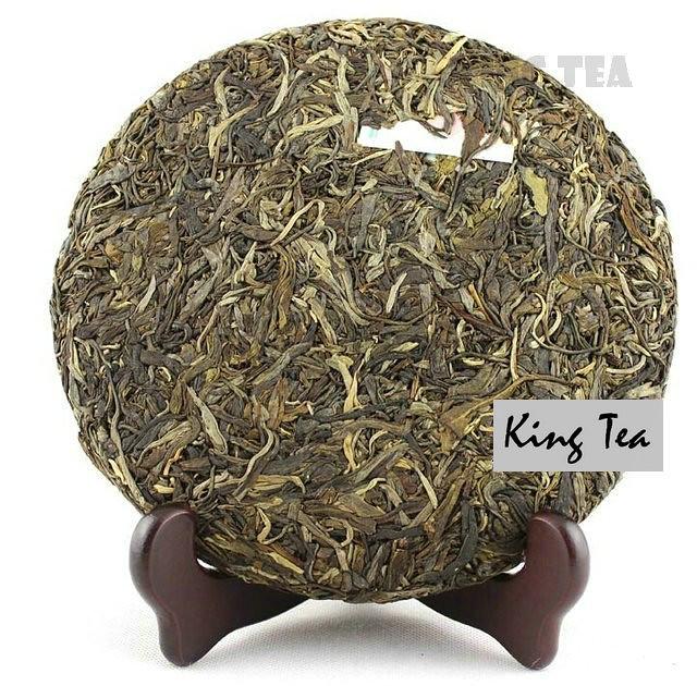 Free Shipping 2014 ChenSheng Beeng Chinese Horse Year Memorial cake 500g YunNan MengHai Organic Pu'er Raw Tea Sheng Cha Weight Loss SlimBeauty
