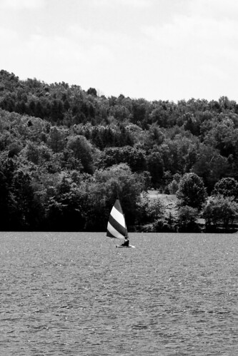 sailboat morainestatepark pennsylvania boat water sky tree blackandwhite bw