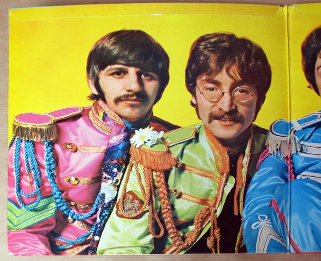 THE BEATLES SGT PEPPER'S LONELY HEARTS CLUB BAND original UK GB PCS 7027 Complete