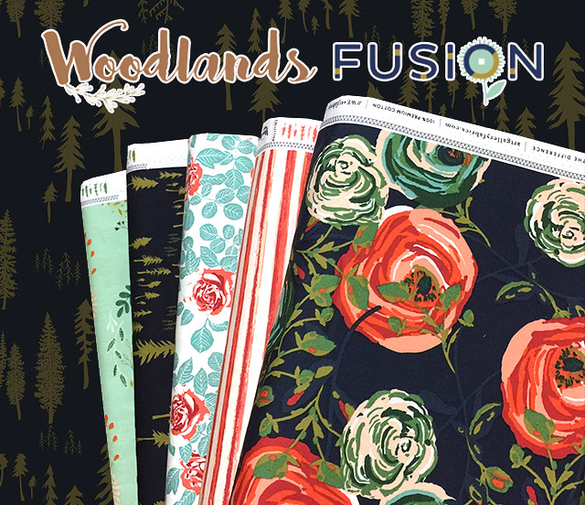 Art Gallery Fabrics Woodlands Fusion Collection by AGF Studio