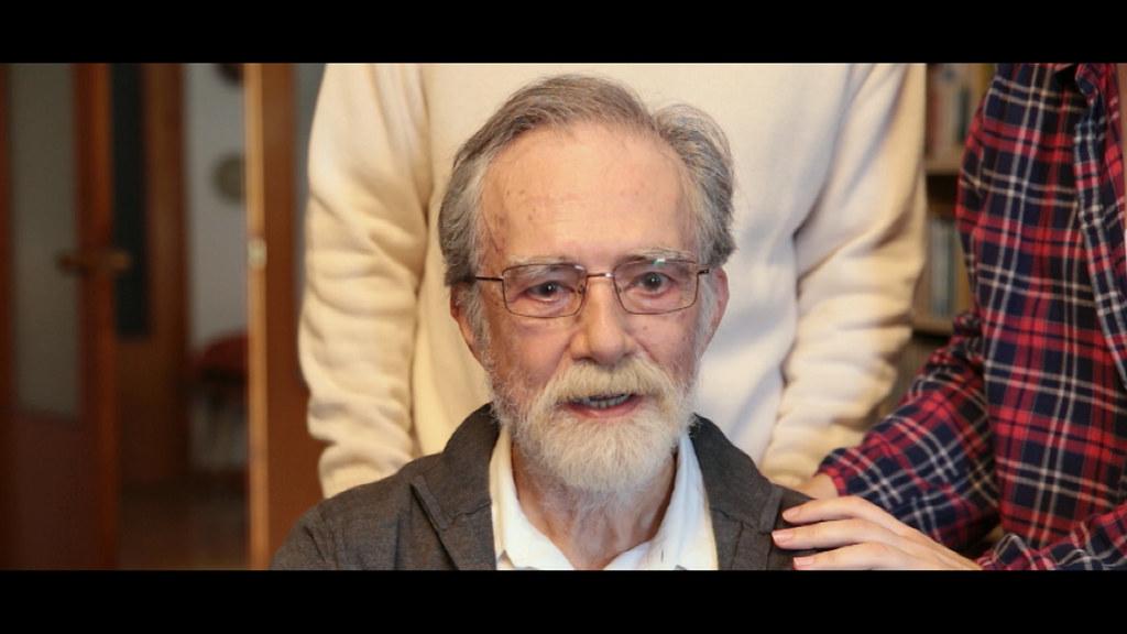 Mariano Anós es el abuelo. Frame original