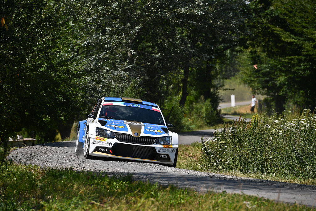 20 David BOTKA (HUN)  FERENCZ Ramon (HUN) Skoda Fabia R5 action during the 2017 European Rally Championship Rally Rzeszowski in Poland from August 4 to 6 - Photo Wilfried Marcon / DPPI