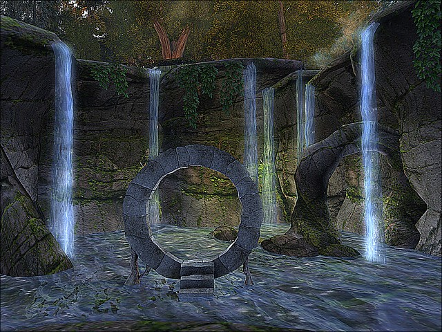 The Sacred Treasure of Elven - Stone Gate Falls