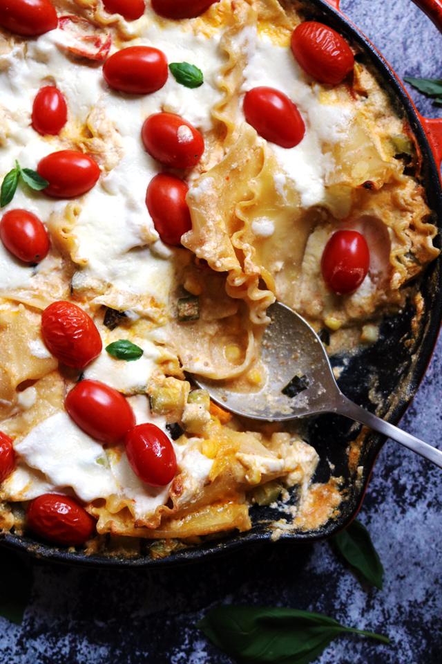 Farmer's Market Skillet Lasagna