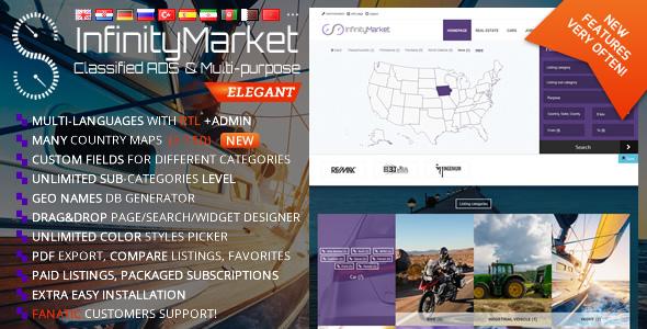 Classified Ads Script v1.6.1 – Infinity Market