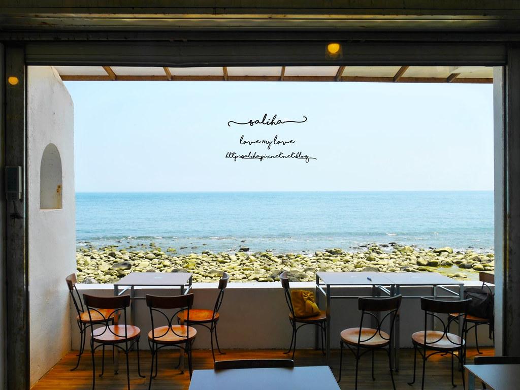 新北金山北海岸海景餐廳推薦洋荳子海邊咖啡館 (19)