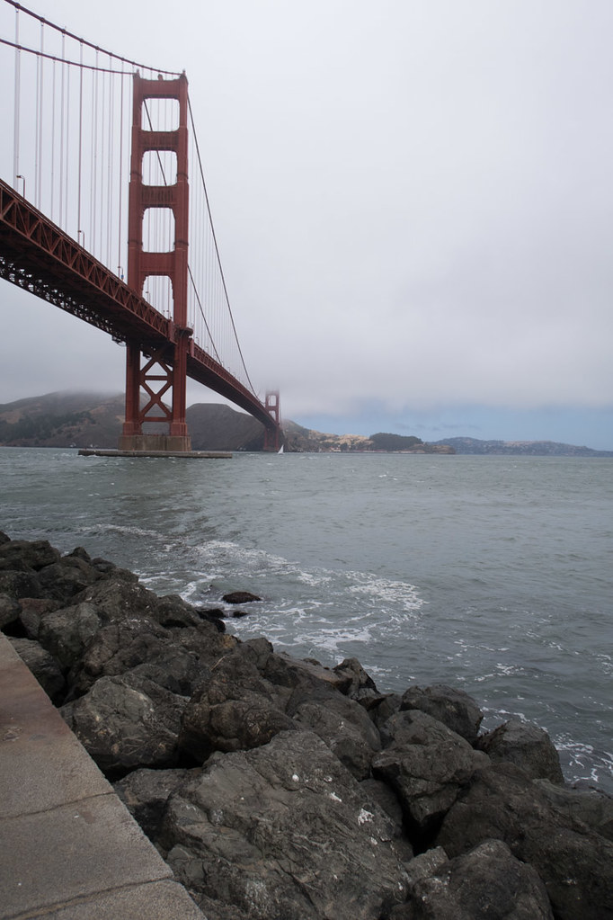 Under golden gate bridge | Vantigo tours