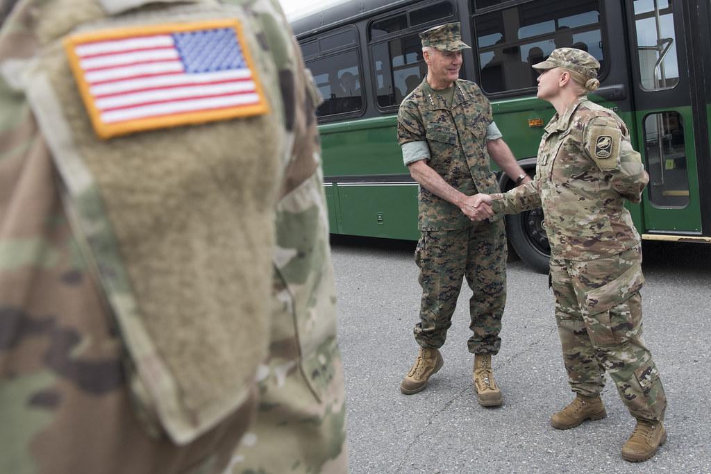 Cjcs Visits Fort Greely Alaska Marine Corps Gen Joseph F Flickr