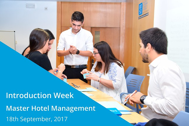 Introduction Week - Master Hotel Management