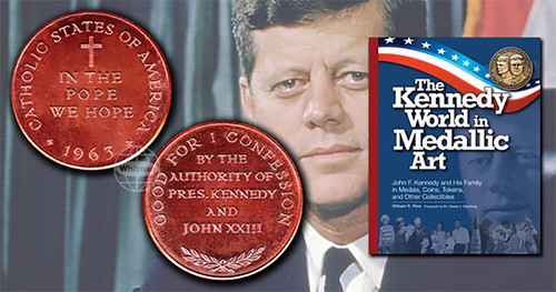 MORE ON THE BASHLOW KENNEDY POPE SATIRE MEDAL
