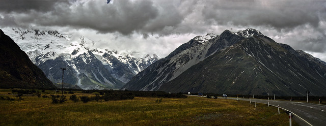 mount cook road 2a, Pentax K-5, Sigma 18-200mm F3.5-6.3 II DC HSM