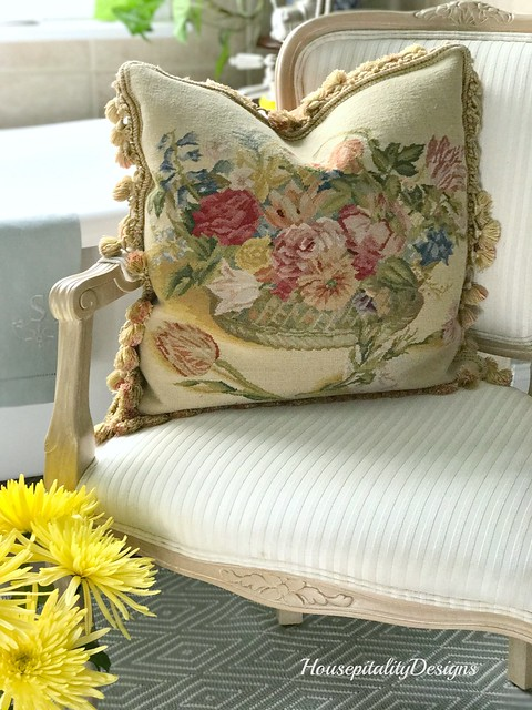 Aubusson Pillow-Housepitality Designs