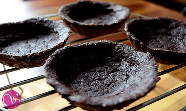 Baked Eggless Chocolate Tart
