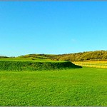 Brading Roman Villa Grounds, Morton Old Road, Brading, Isle of Wight, England UK