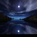 pemandangan bulan purnama