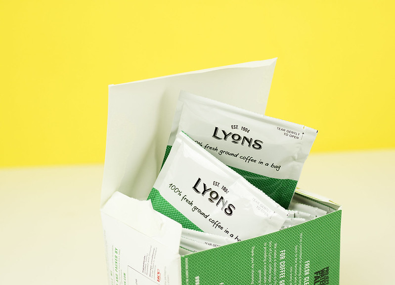 Lyons Coffee Bags\