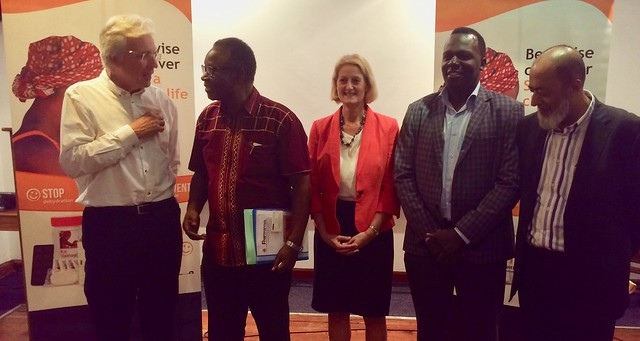 Dr Kasonde at the Shoprite launch