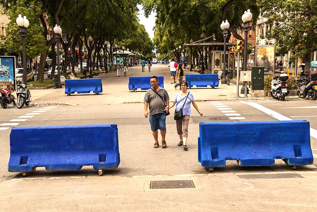 Concrete barriers--Tarragona