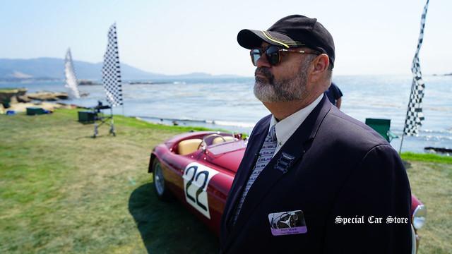 Matt Stone at Pebble Beach Concours d'Elegance 2017