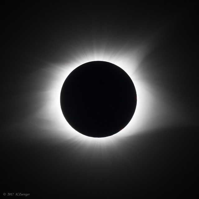 2017 August USA Total Eclipse KY qe single frame